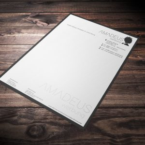 Briefpapier / Briefbögen
